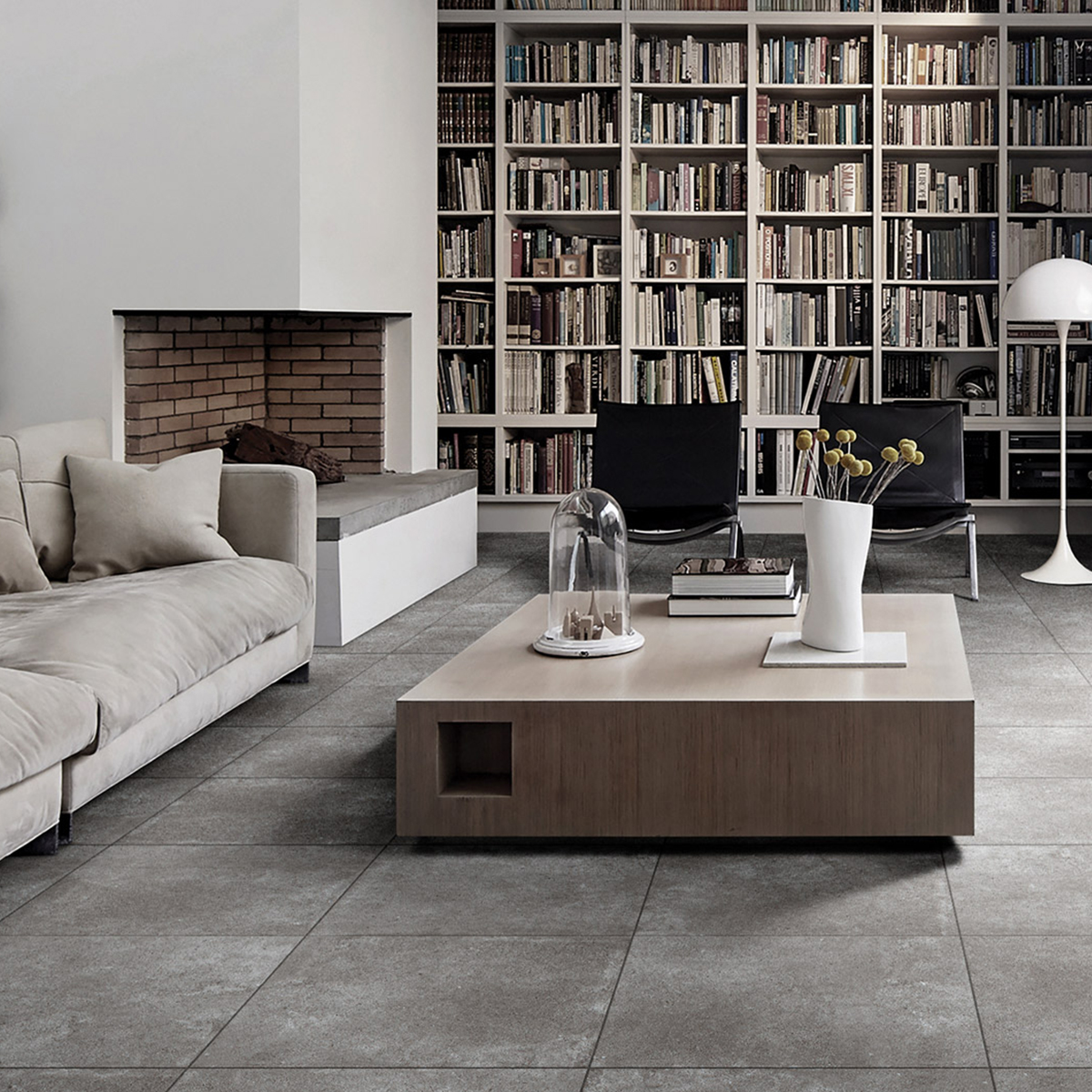 Grey Paradigm Concrete Look Tile - Stone3 Brisbane