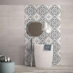 Picasso Fleur Patterned Tile - Stone3 Brisbane
