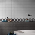 Picasso Flora Black Patterned Tile - Stone3 Brisbane