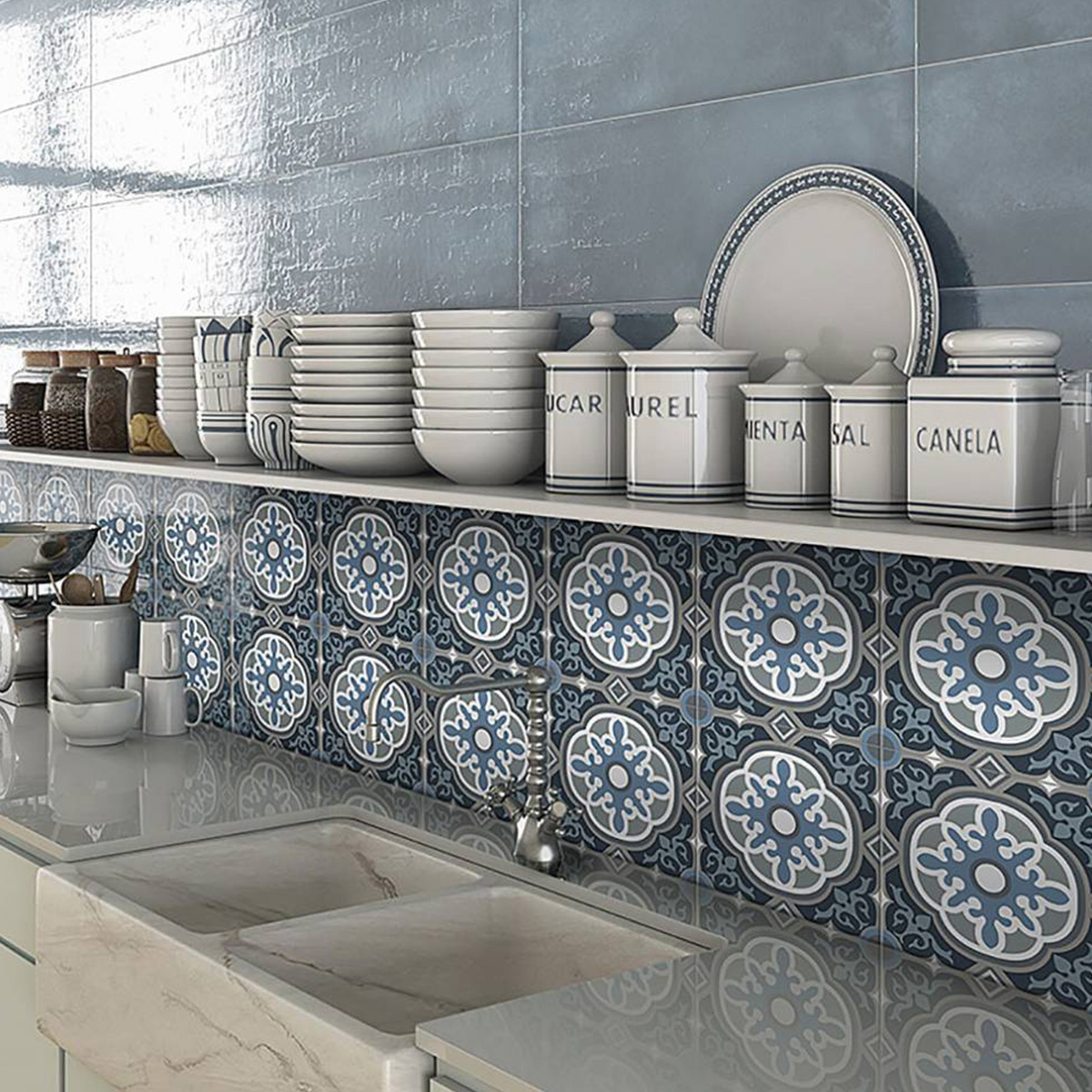 Picasso Windsor Patterned Tile - Stone3 Brisbane