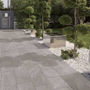 Stonetrack Grey Stone Look Outdoor Tile - Stone3 Brisbane