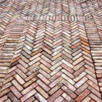 Recycled Brick - Brooklyn - Herringbone - Laid - Stone3 Brisbane