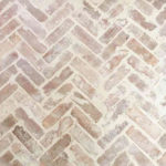 Recycled Brick - Brooklyn - Herringbone - over grout - Stone3 Brisbane