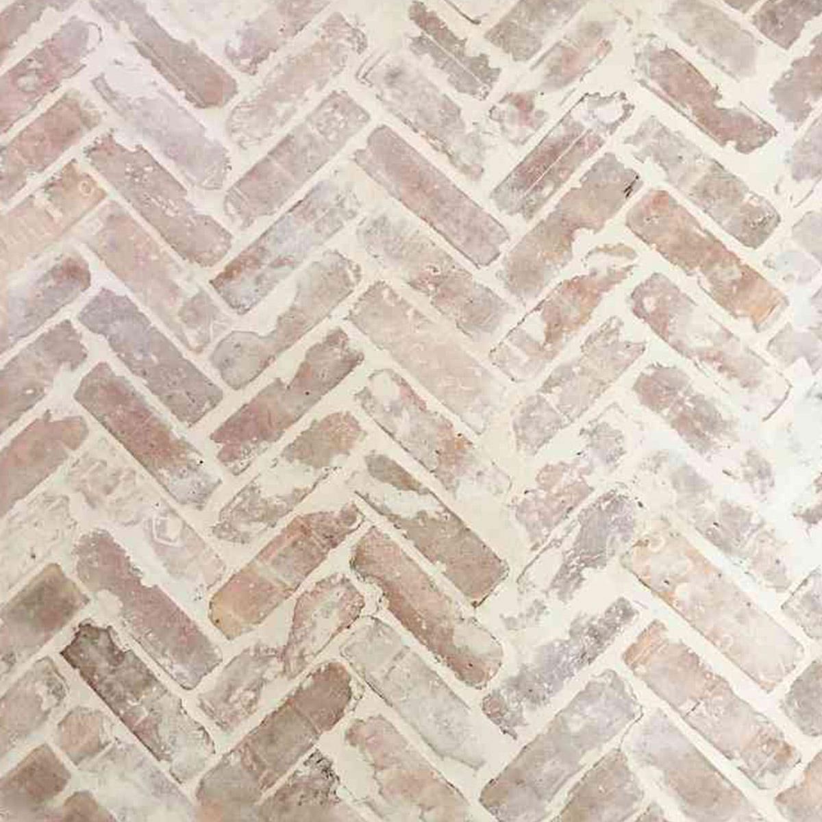 Recycled Brick - Brooklyn - Herringbone - over grout - Stone3 Brisbane