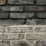 Recycled Brick - Manhattan - black and grey grout - Stone3 Brisbane