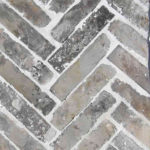Recycled Brick - Manhattan - Herringbone - Stone3 Brisbane