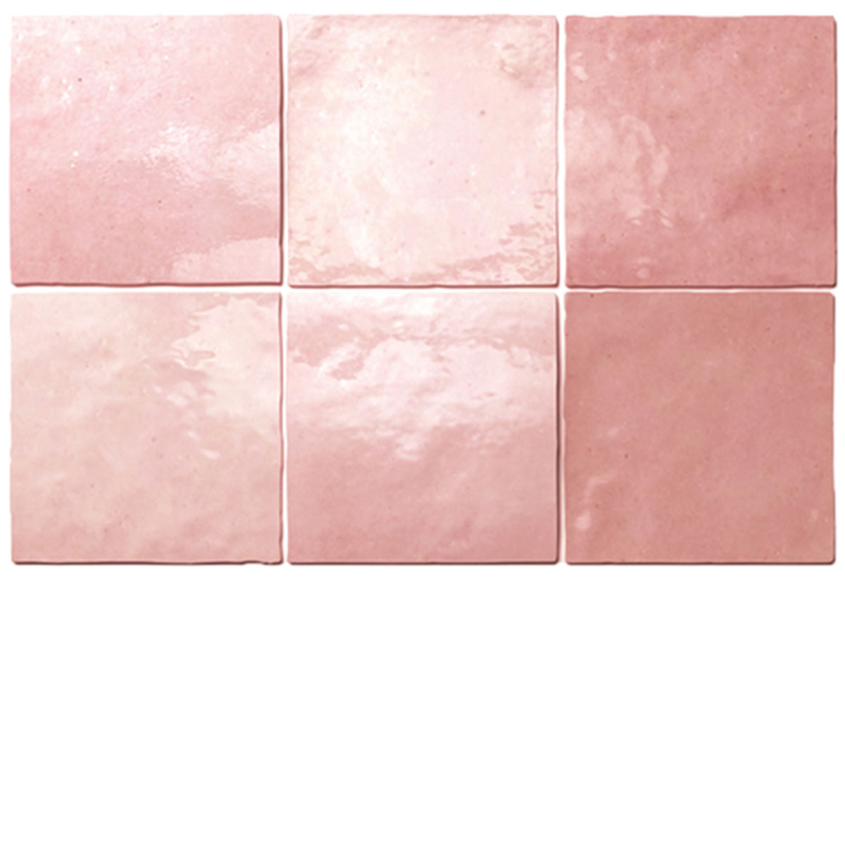 Rose Artisan Handmade look Square Tile - Stone3 Brisbane