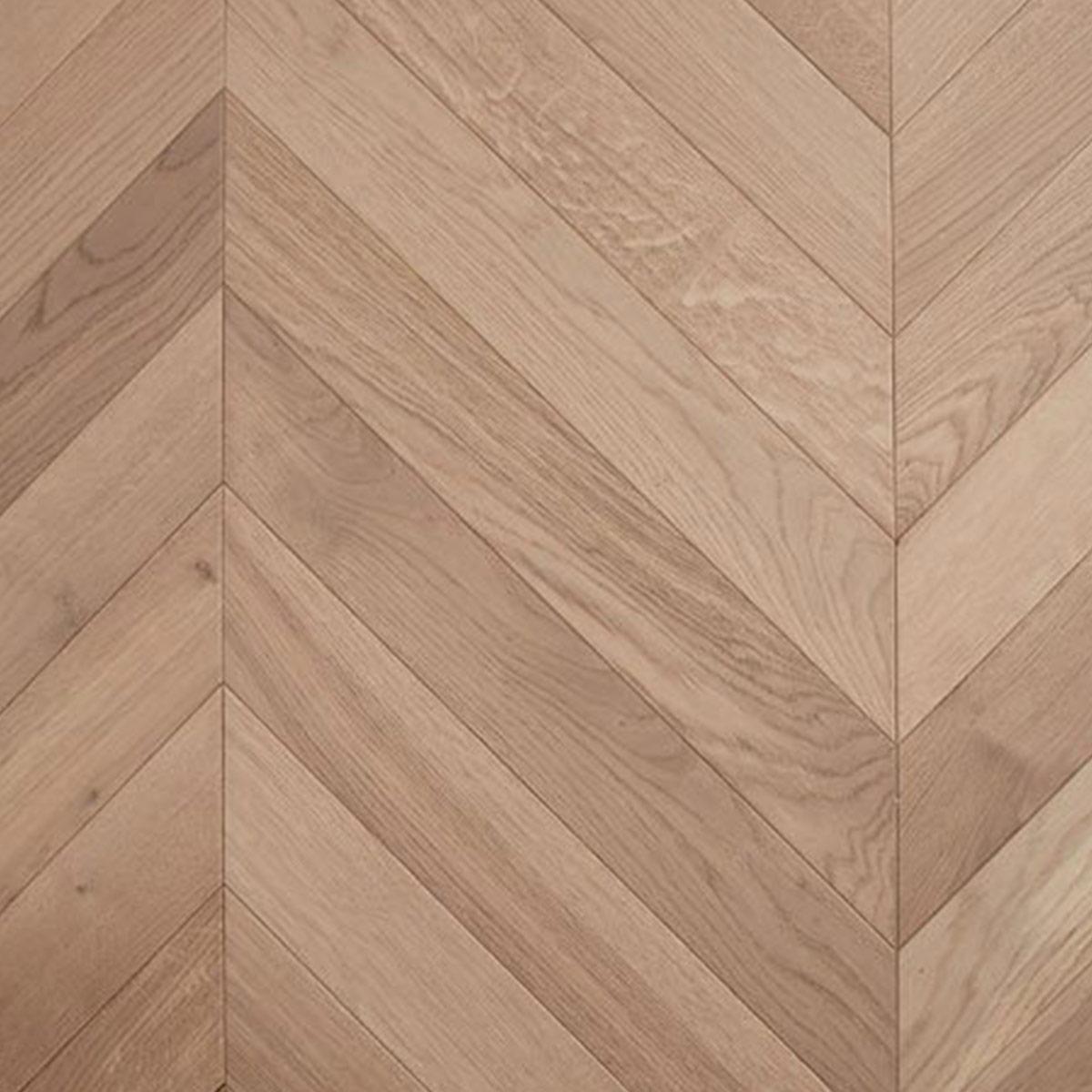 De Marque Oak Timber Flooring - Chevron - Champagne - Stone3 Brisbane