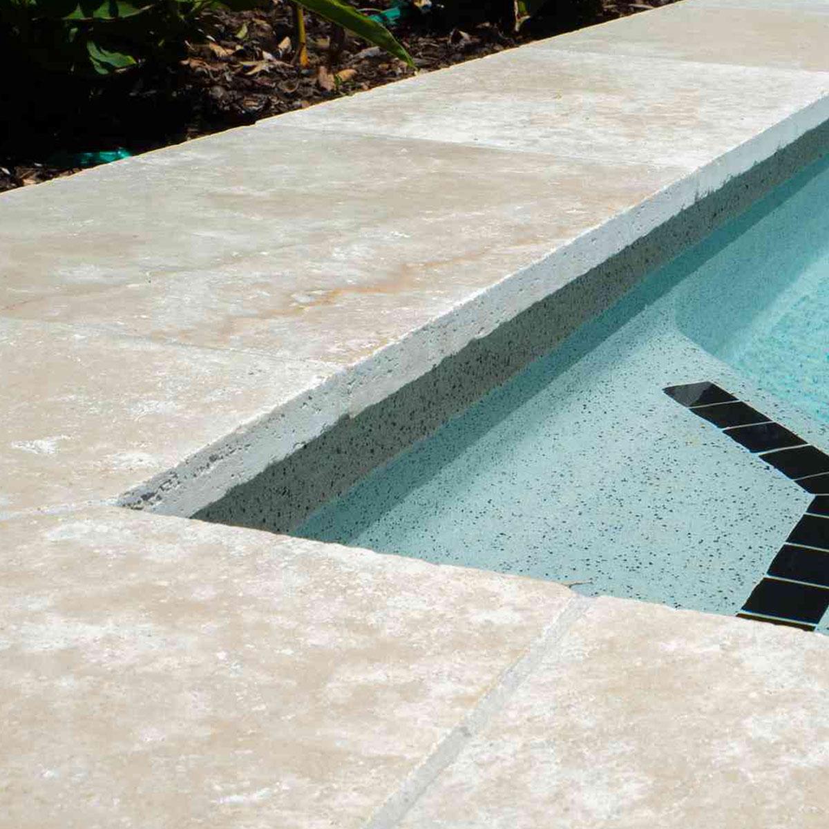 Travertine - Cream - Natural Stone Tiles - Stone3 Brisbane
