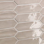 Crayons - Caramel Gloss - Elongated Hexagon Tiles - Stone3 Brisbane
