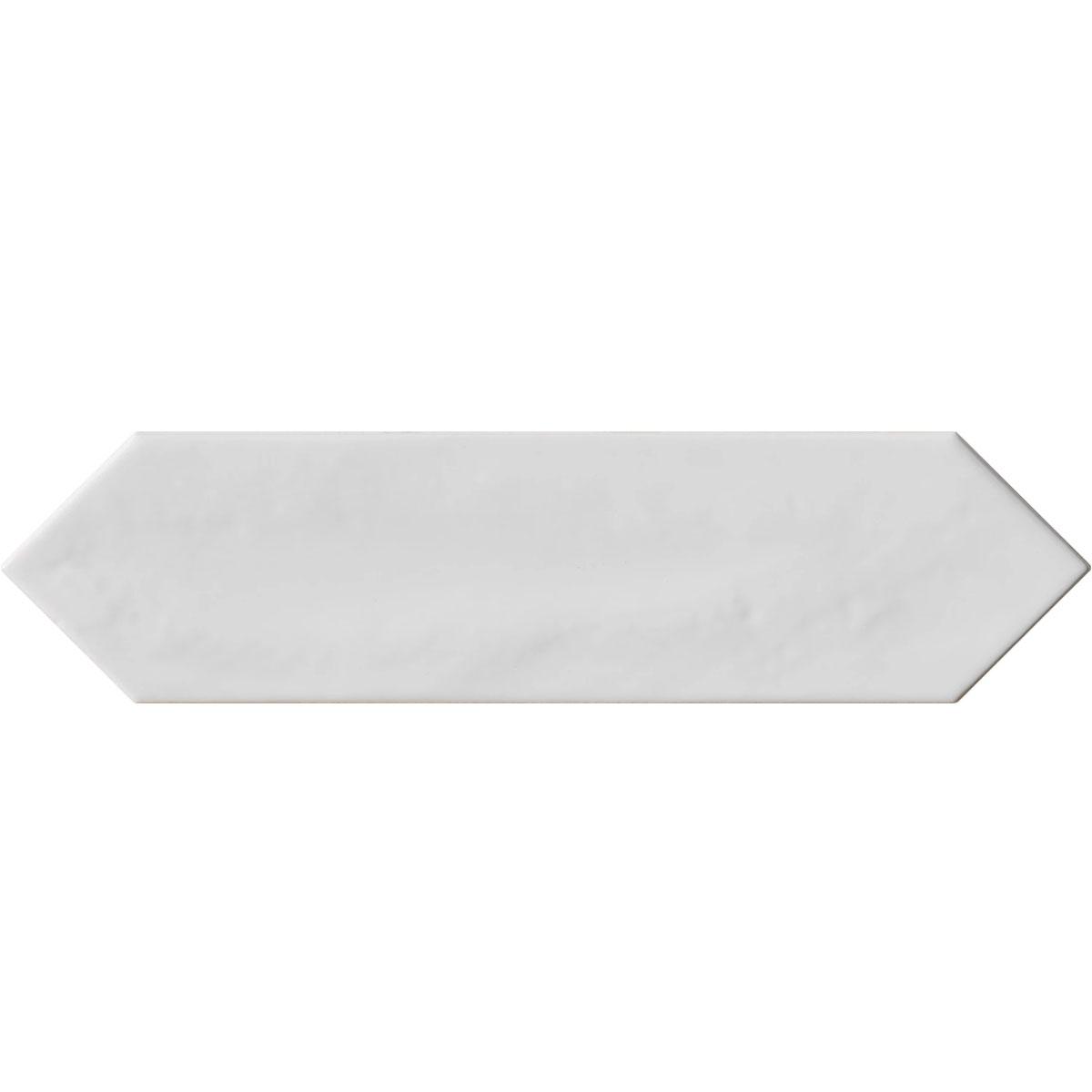 Crayons - White Gloss - Elongated Hexagon Tiles - Stone3 Brisbane