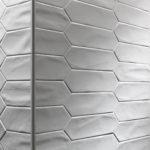 Crayons - Matt White - Elongated Hexagon Tiles - Stone3 Brisbane