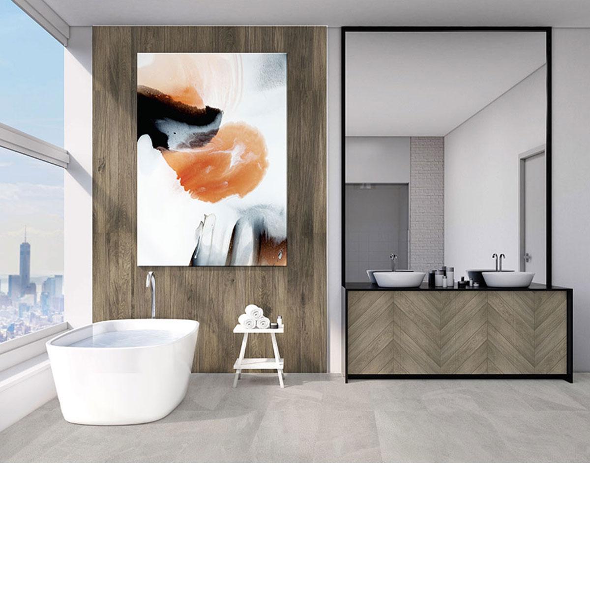 Timberland - Dark Oak - Timber Look Tiles - Stone3 Brisbane