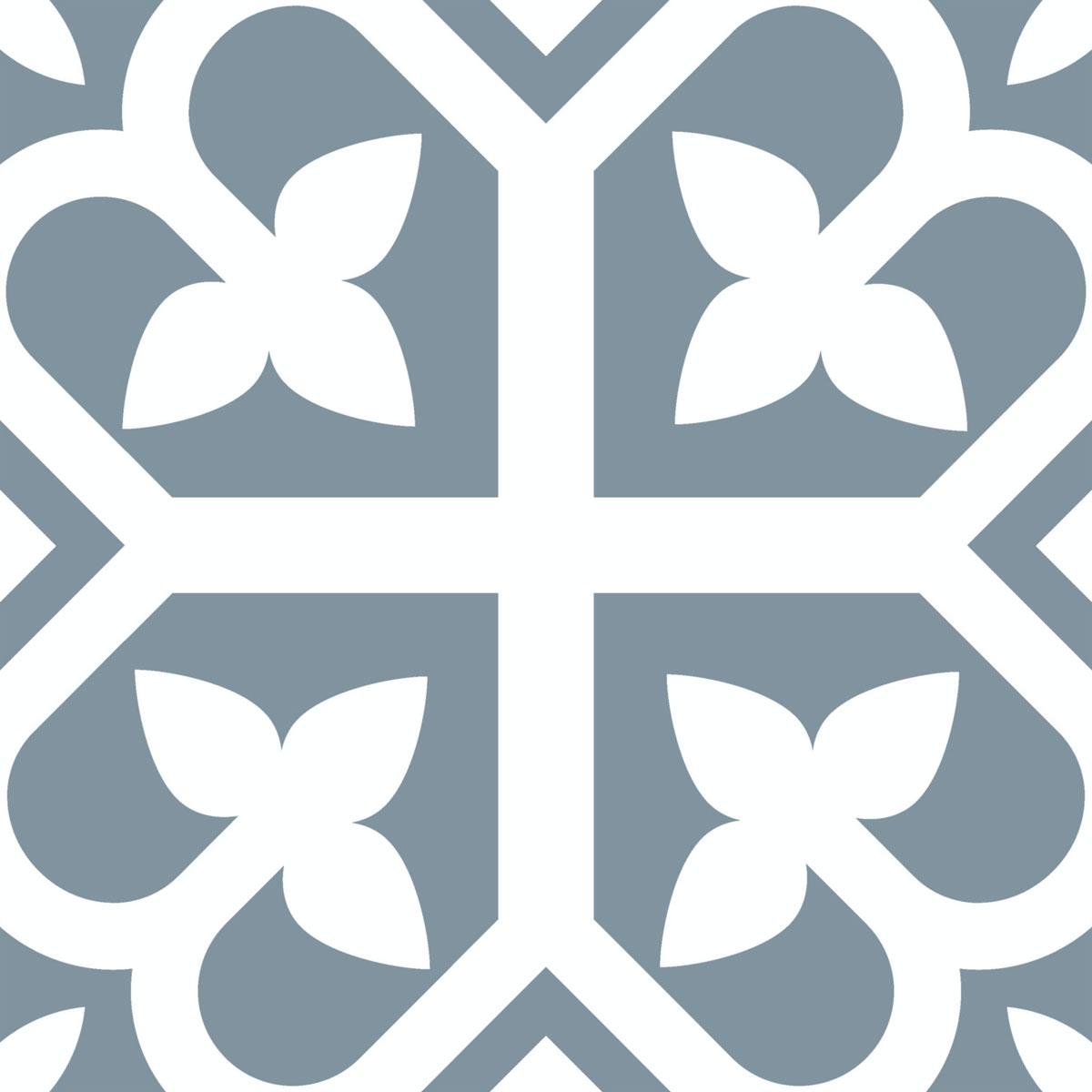 Picasso Evolution - Bloom Baby Blue - Patterned Tiles - Stone3 Brisbane