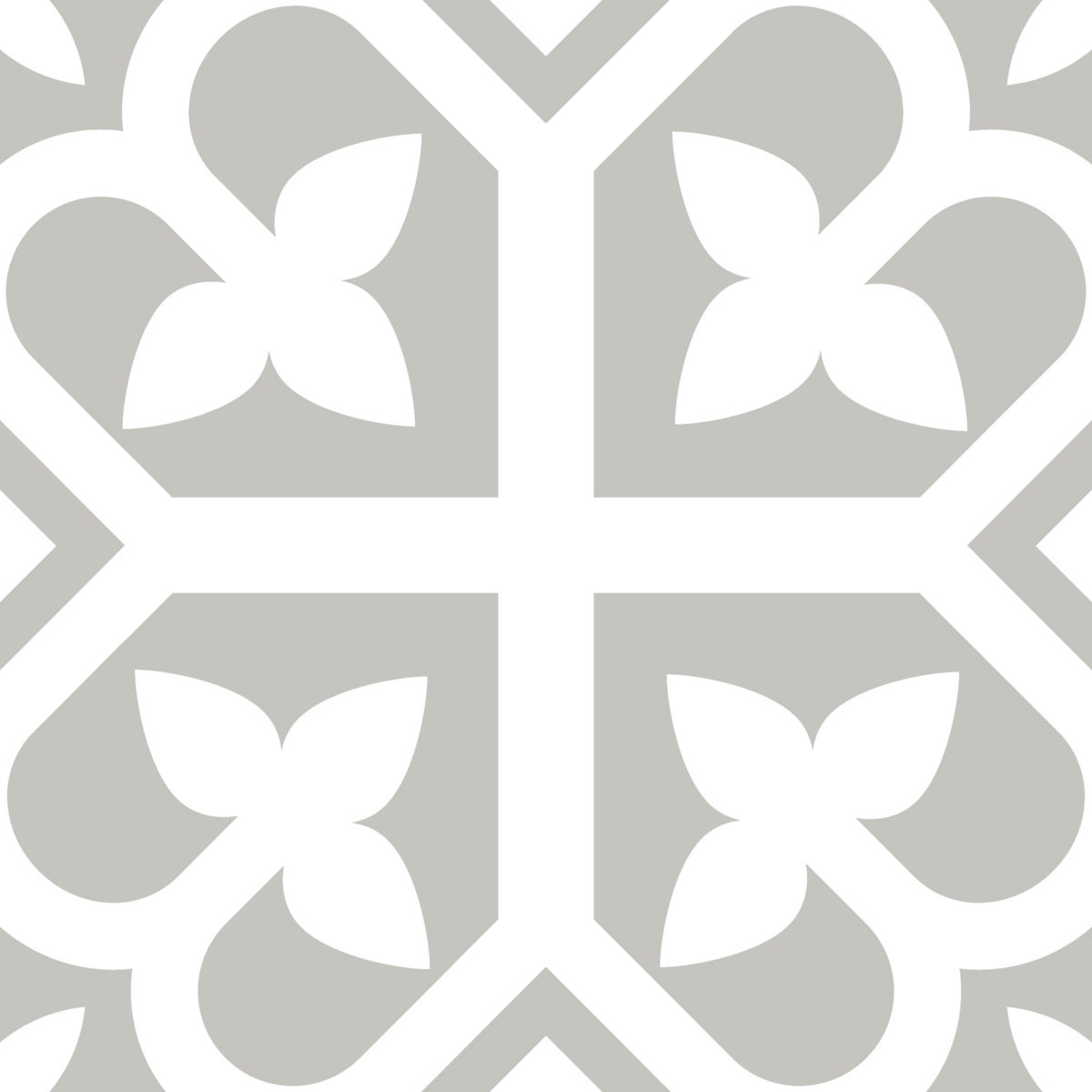 Picasso Evolution - Bloom Grey - Patterned Tiles - Stone3 Brisbane