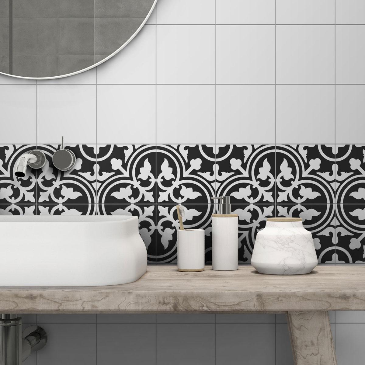 Picasso Evolution - Shadow Black - Patterned Tiles - Stone3 Brisbane
