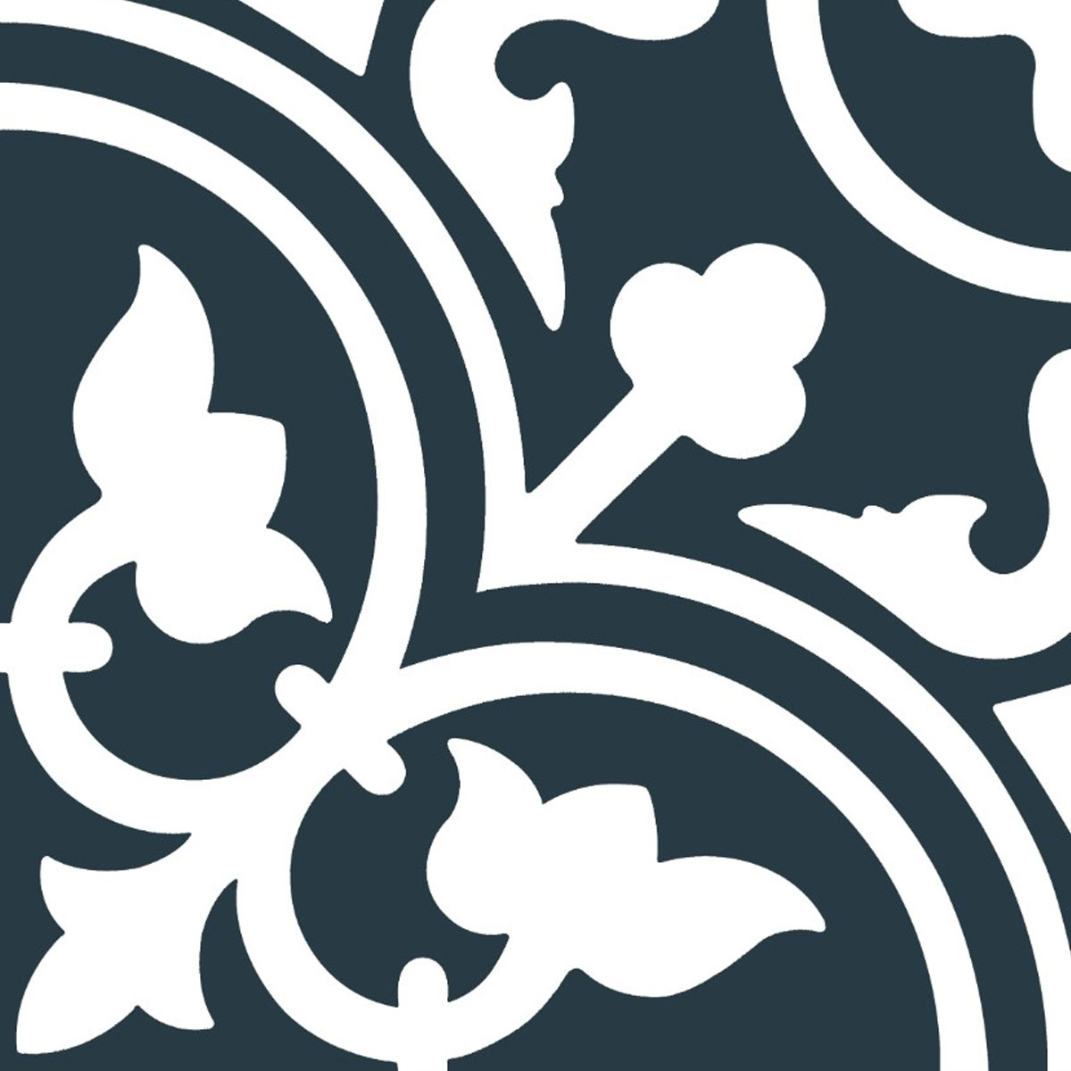Picasso Evolution - Shadow Navy Blue - Patterned Tiles - Stone3 Brisbane
