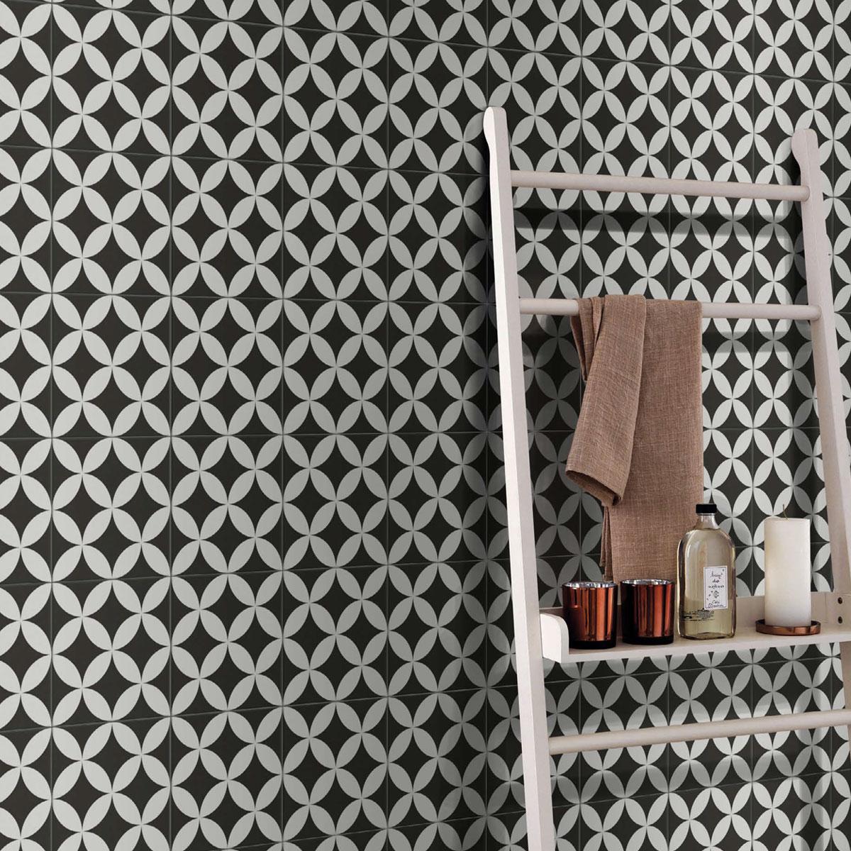 Picasso Evolution - Star Black - Patterned Tiles - Stone3 Brisbane