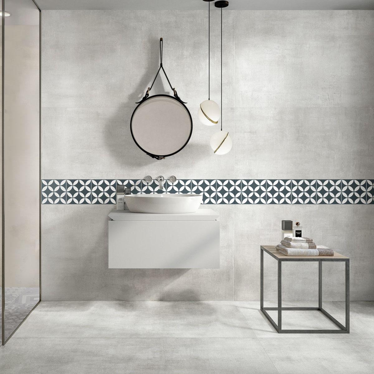 Picasso Evolution - Star Navy Blue - Patterned Tiles - Stone3 Brisbane