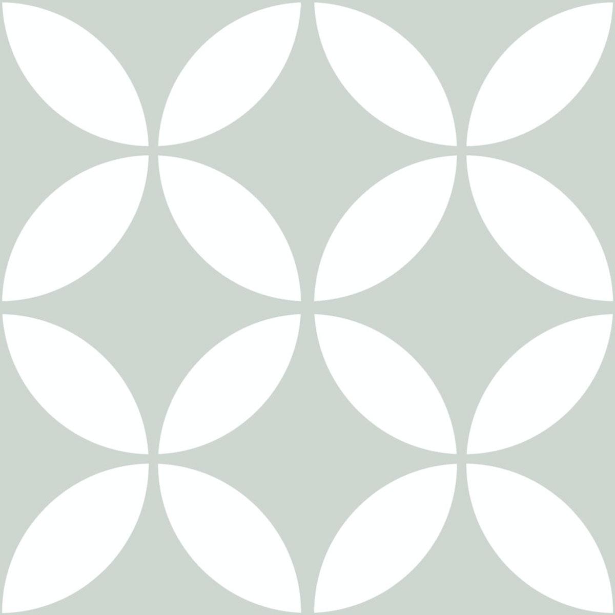 Picasso Evolution - Star Pale Green - Patterned Tiles - Stone3 Brisbane
