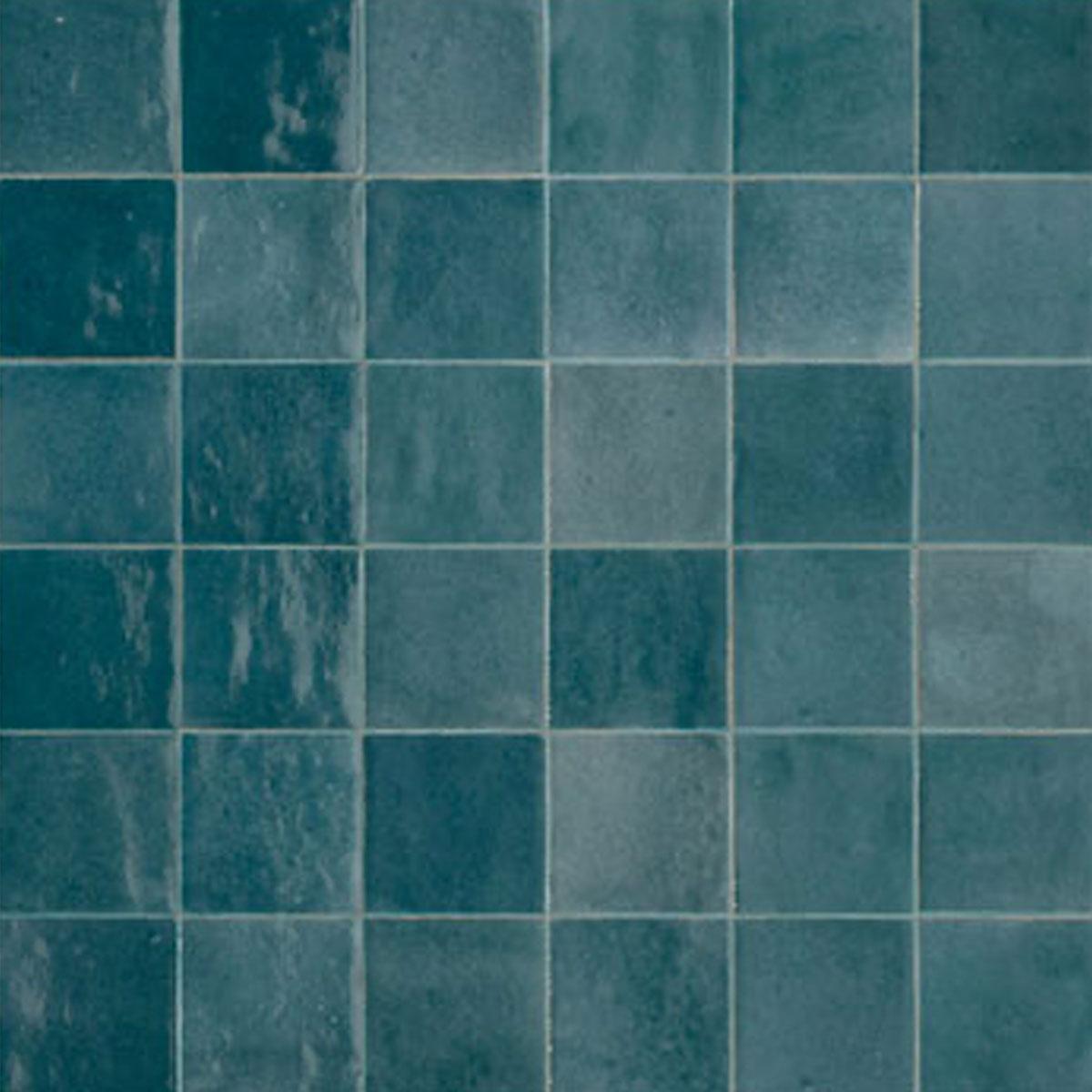 Zellige - Petrolio - Handmade Look Tiles - Stone3 Brisbane