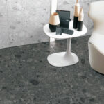 Affogato - Light Grey - Terrazzo Look Tiles - Stone3