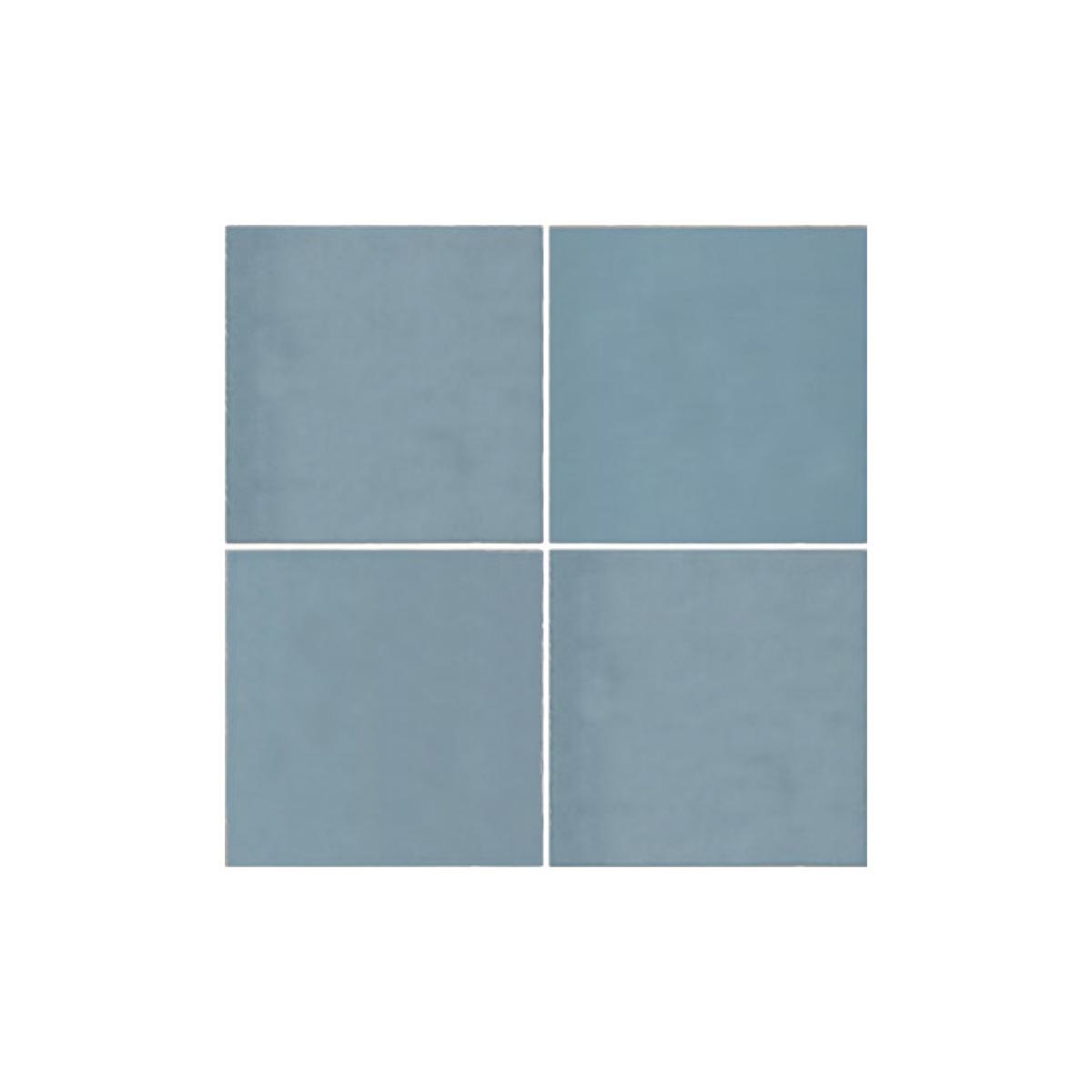 Casablanca - Baby Blue - Square Feature Tiles - 120x120mm