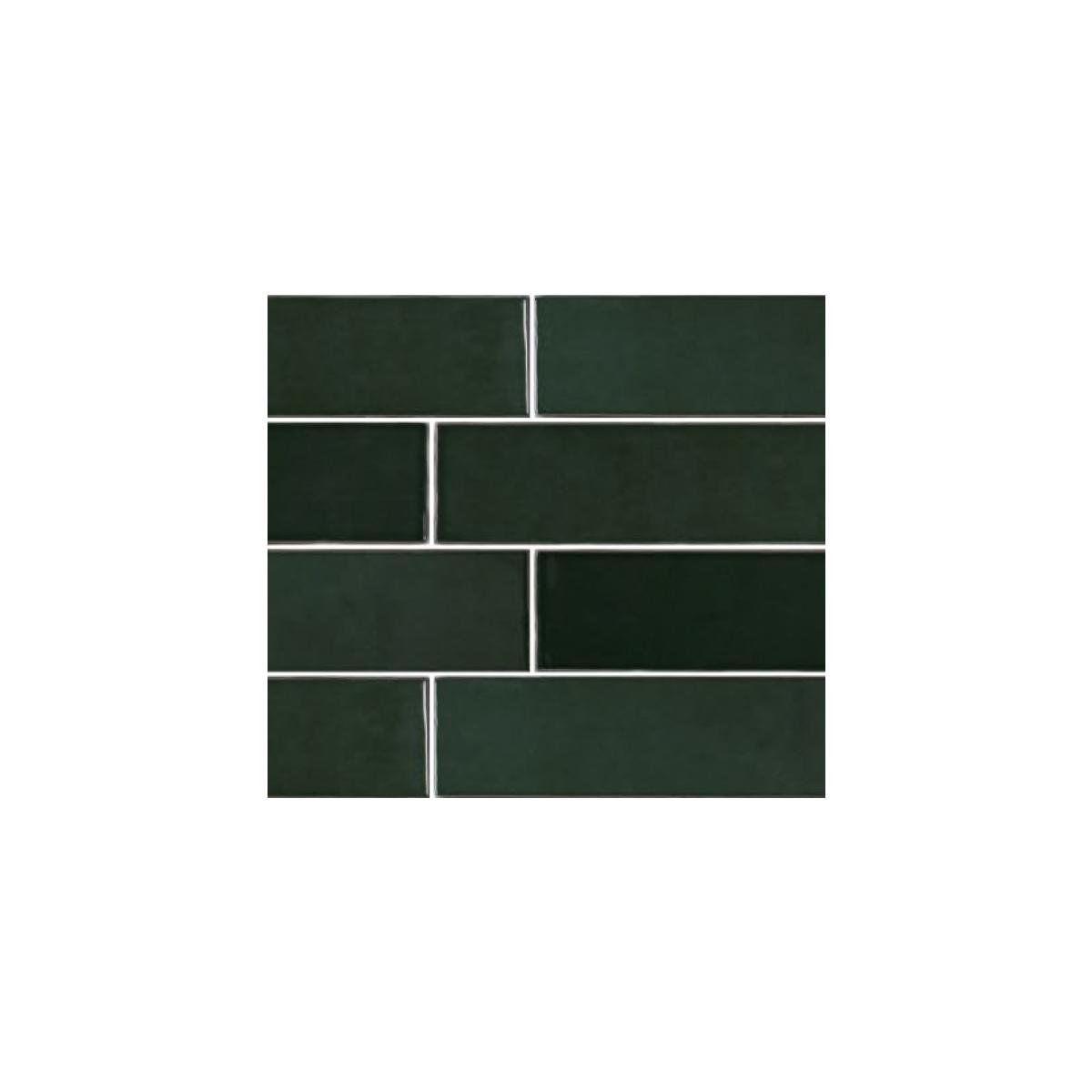 Casablanca - Bottle Green - Subway Feature Tiles