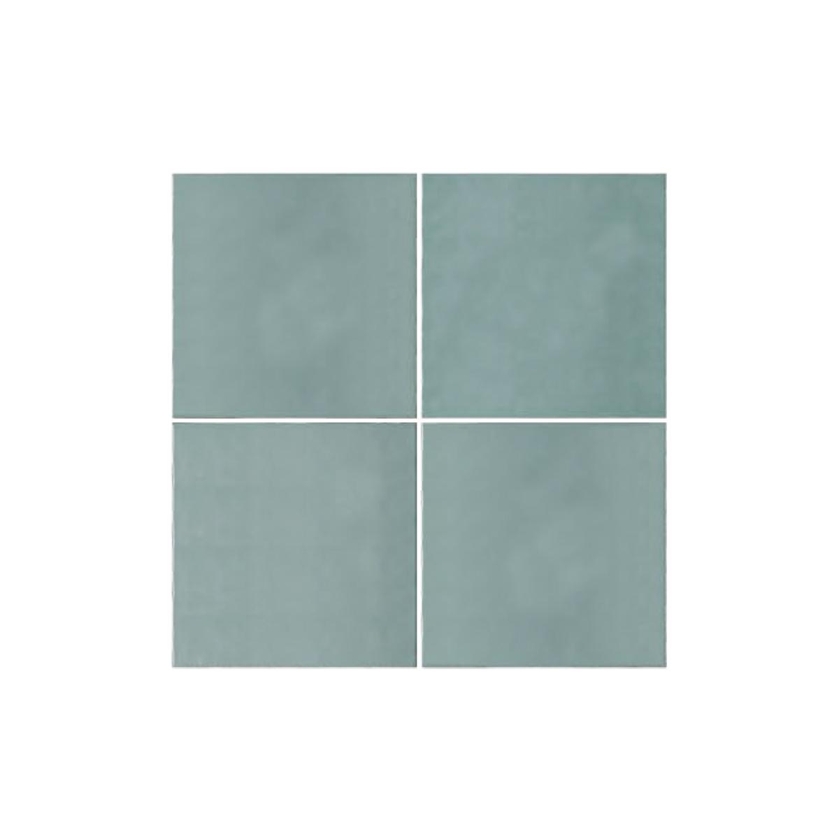 Casablanca - Mint - Square Feature Tiles - 120x120mm