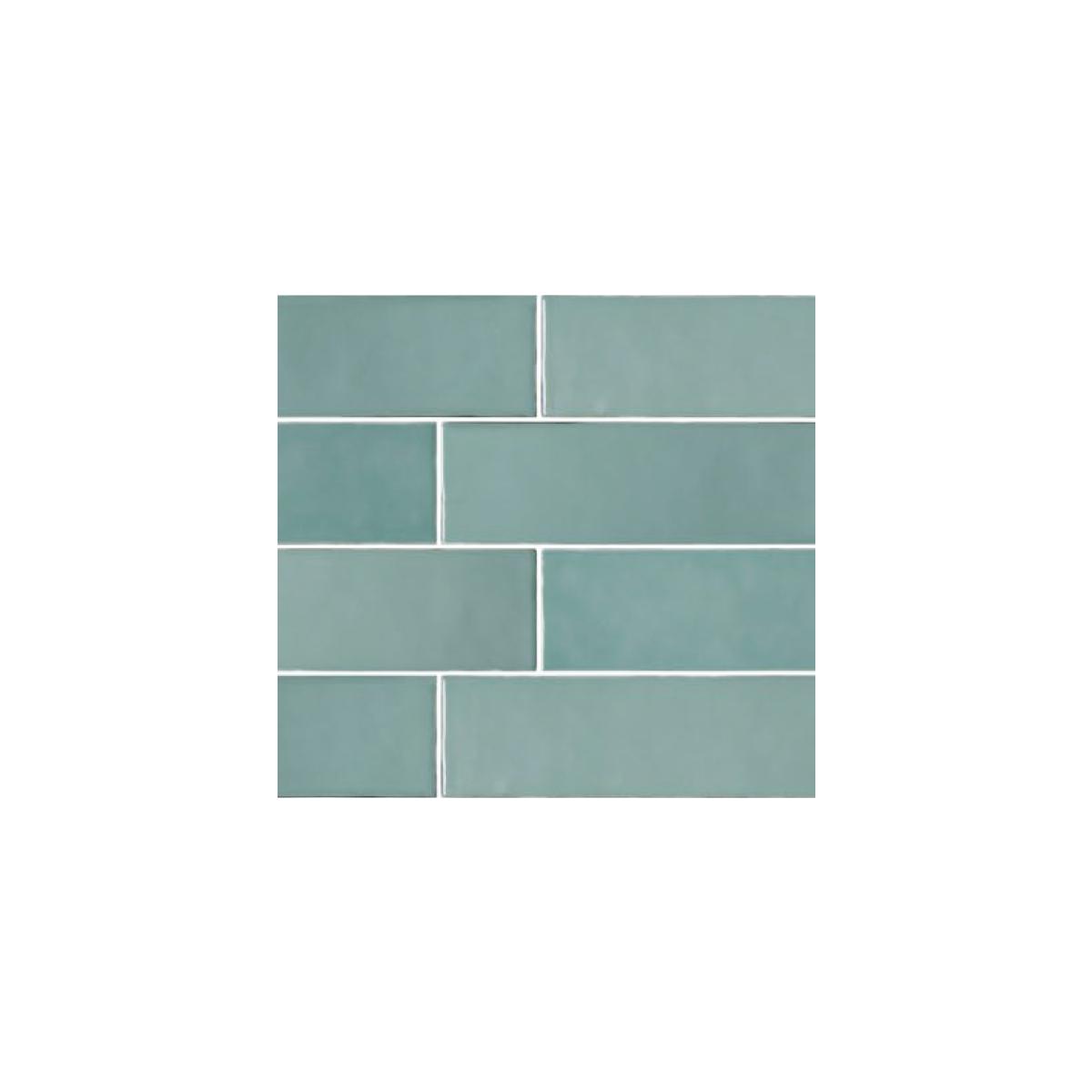 Casablanca - Mint - Subway Feature Tiles