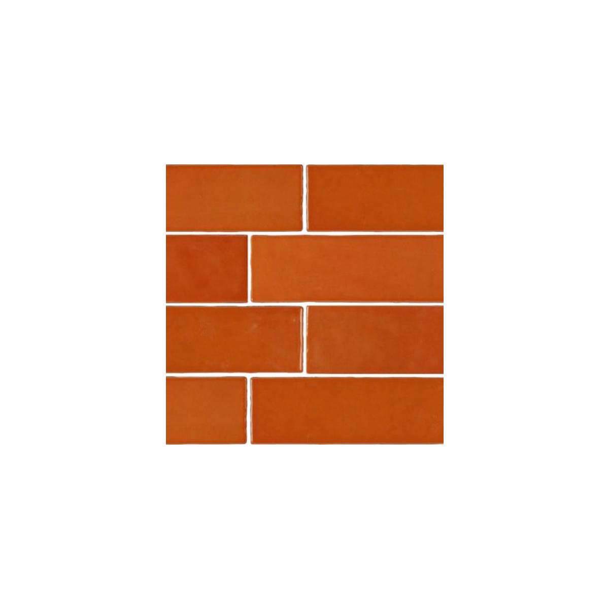 Casablanca - Orange - Subway Feature Tiles