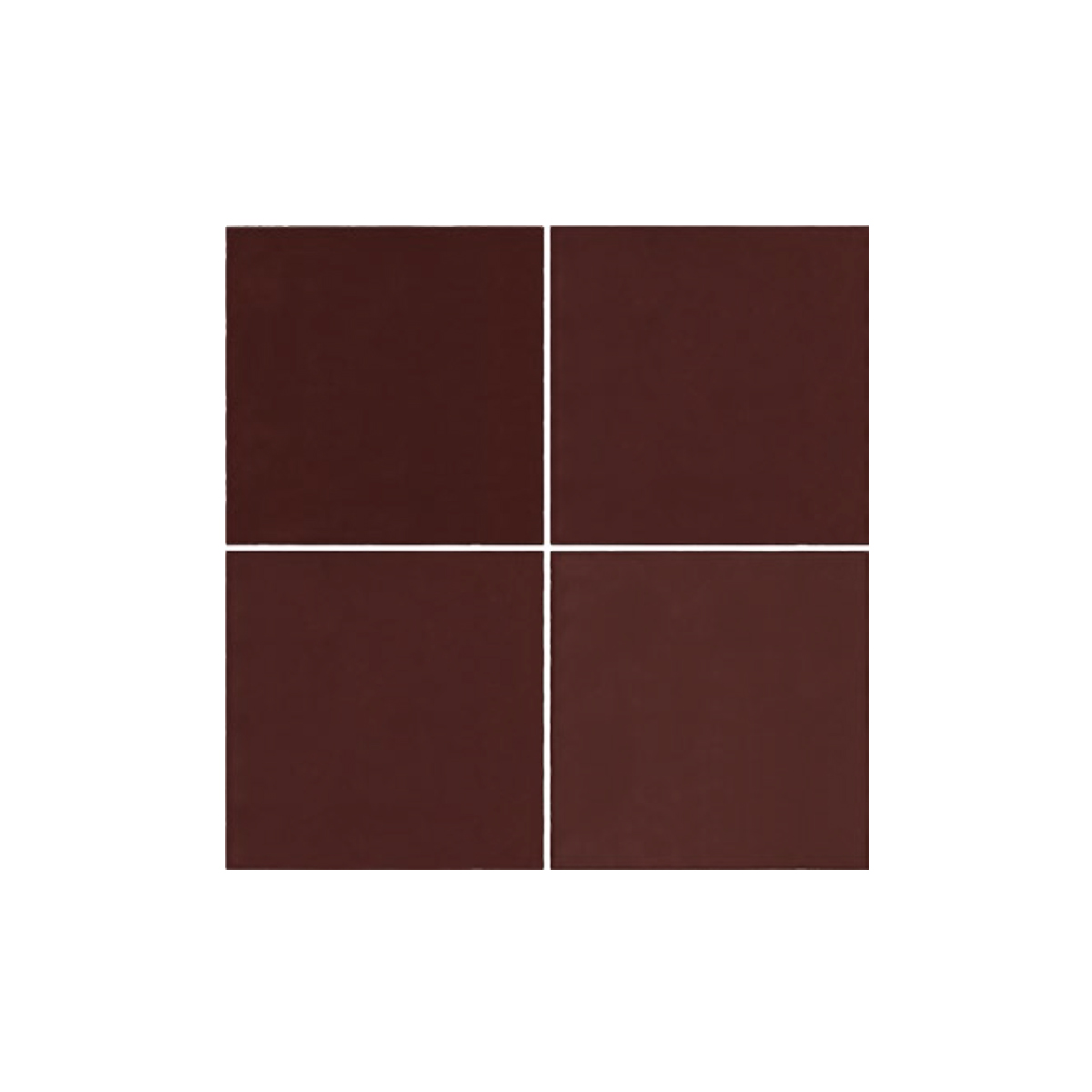 Casablanca - Red - Square Feature Tiles - 120x120mm