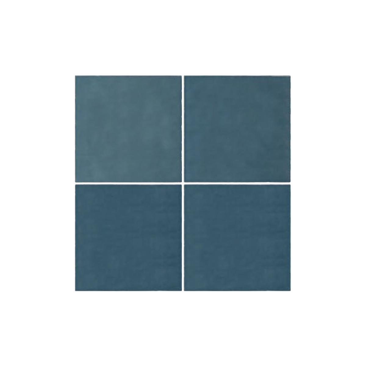 Casablanca - Sky Blue - Square Feature Tiles - 120x120mm