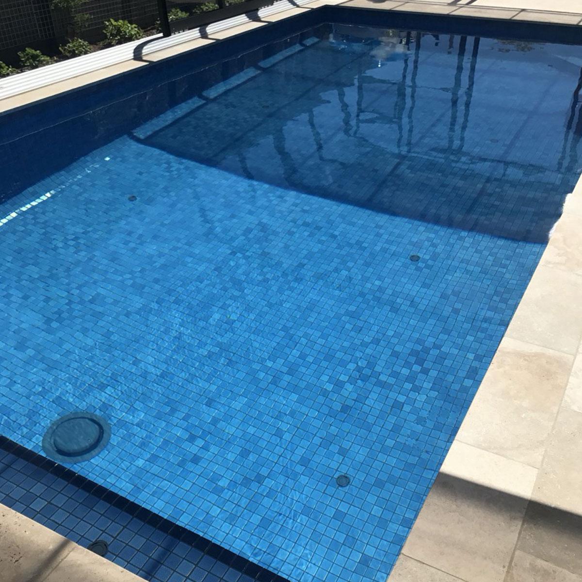 Celadon - Cobalt - Pool Mosaics - Stone3 Brisbane