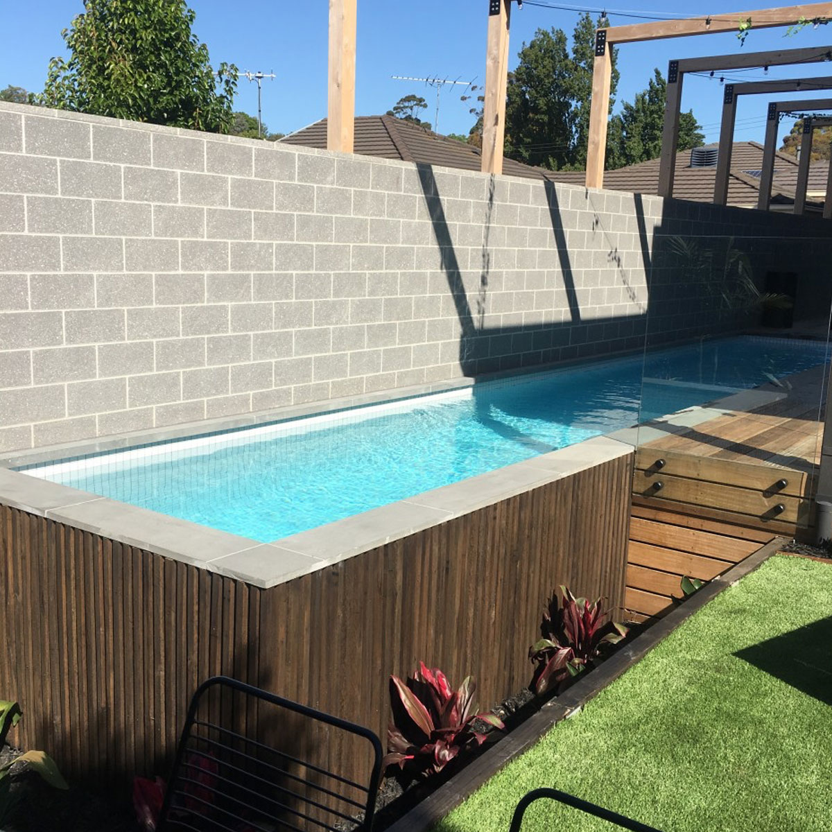 Celadon - White - Pool Mosaics - Stone3 Brisbane