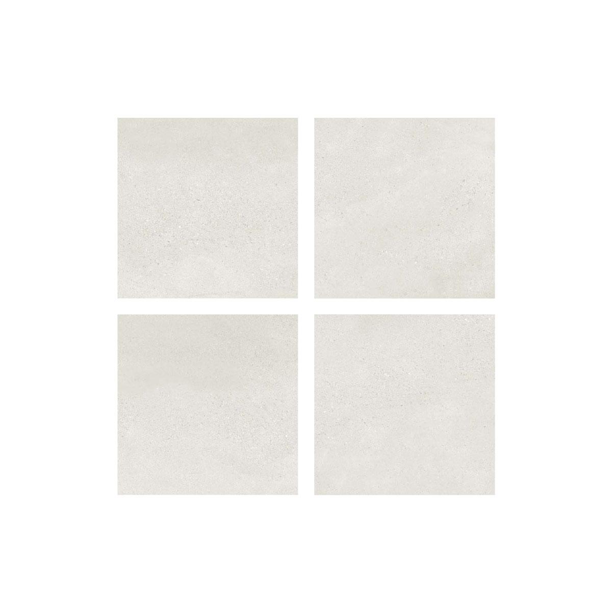 Moonstone - Bianco - Concrete Look Tiles - 600x600mm - Stone3