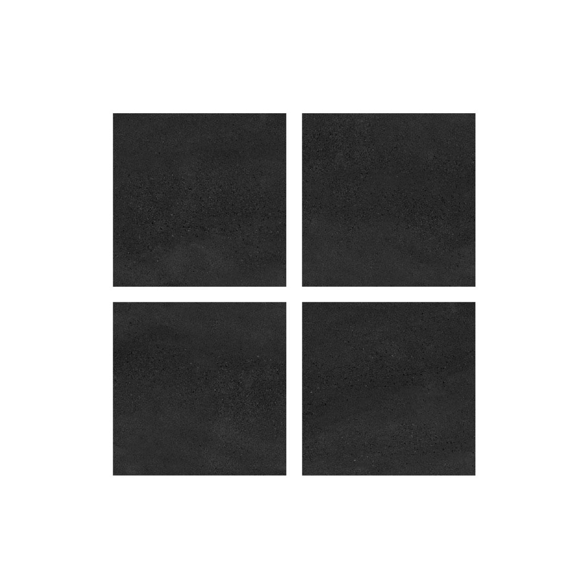 Moonstone - Midnight - Concrete Look Tiles - 600x600mm - Stone3