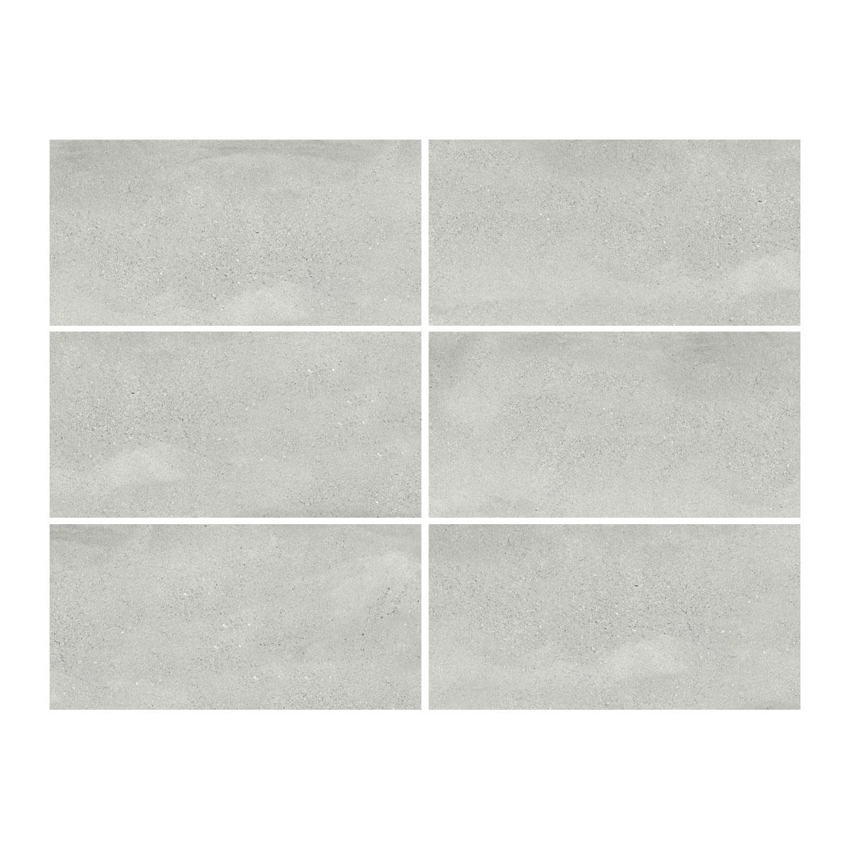 Moonstone - Pumice - Concrete Look Tiles - 300x600mm - Stone3