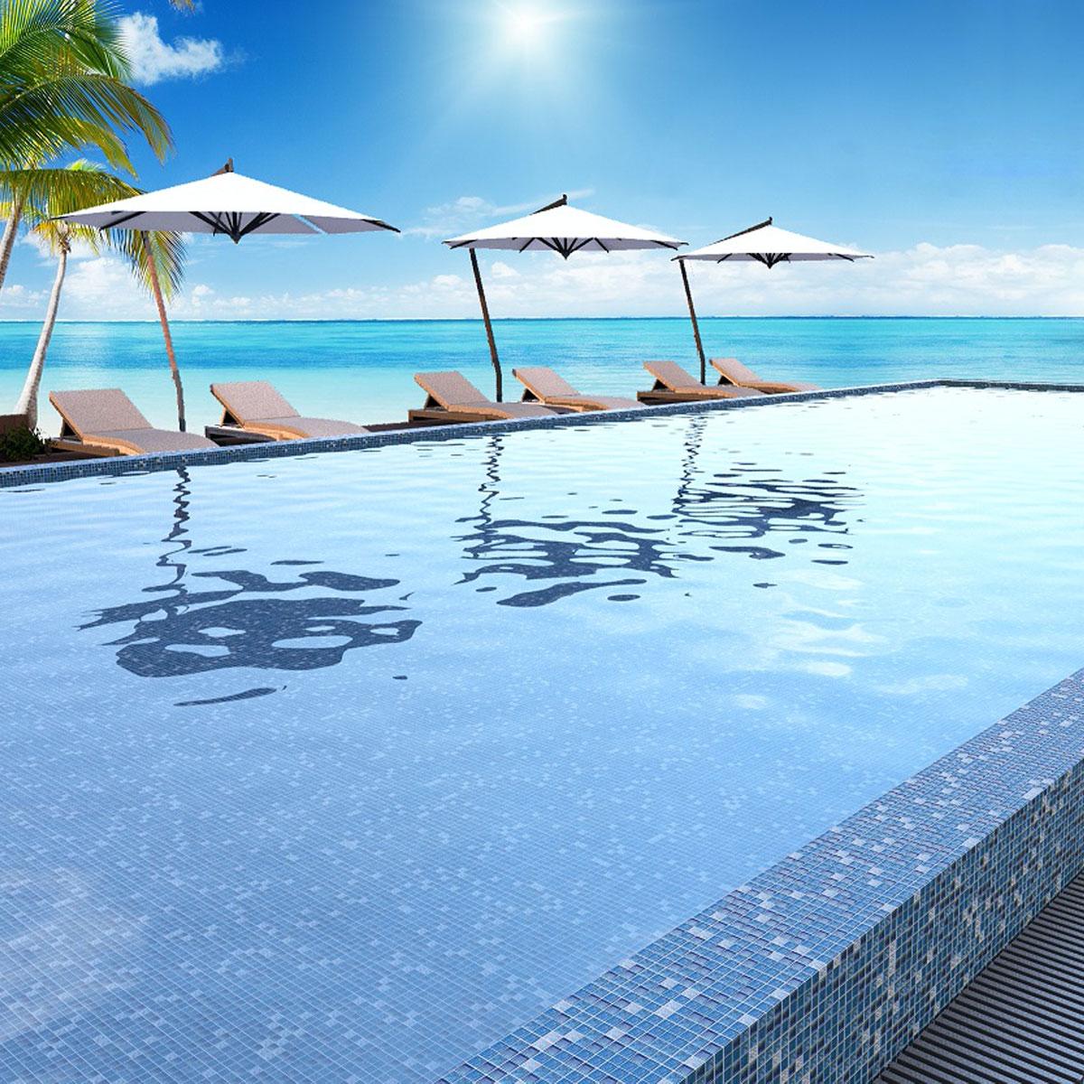 Paradise - Madagascar - Pool Mosaics - Glass Tiles - Stone3 Brisbane