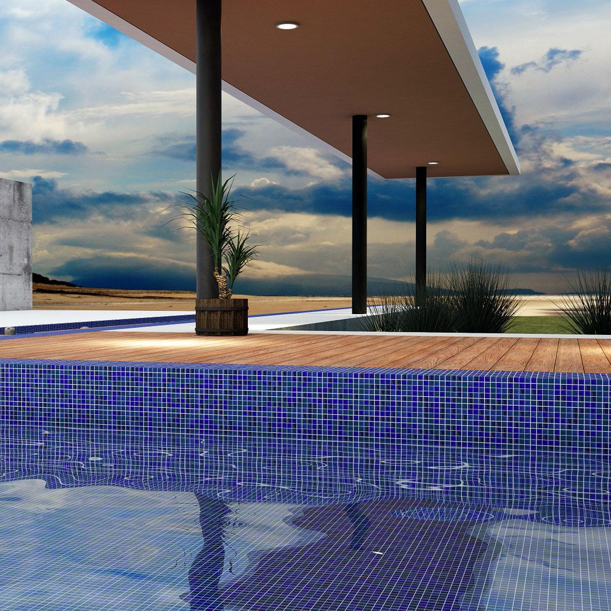 Paradise - Phuket - Pool Mosaics - Glass Tiles - Stone3 Brisbane