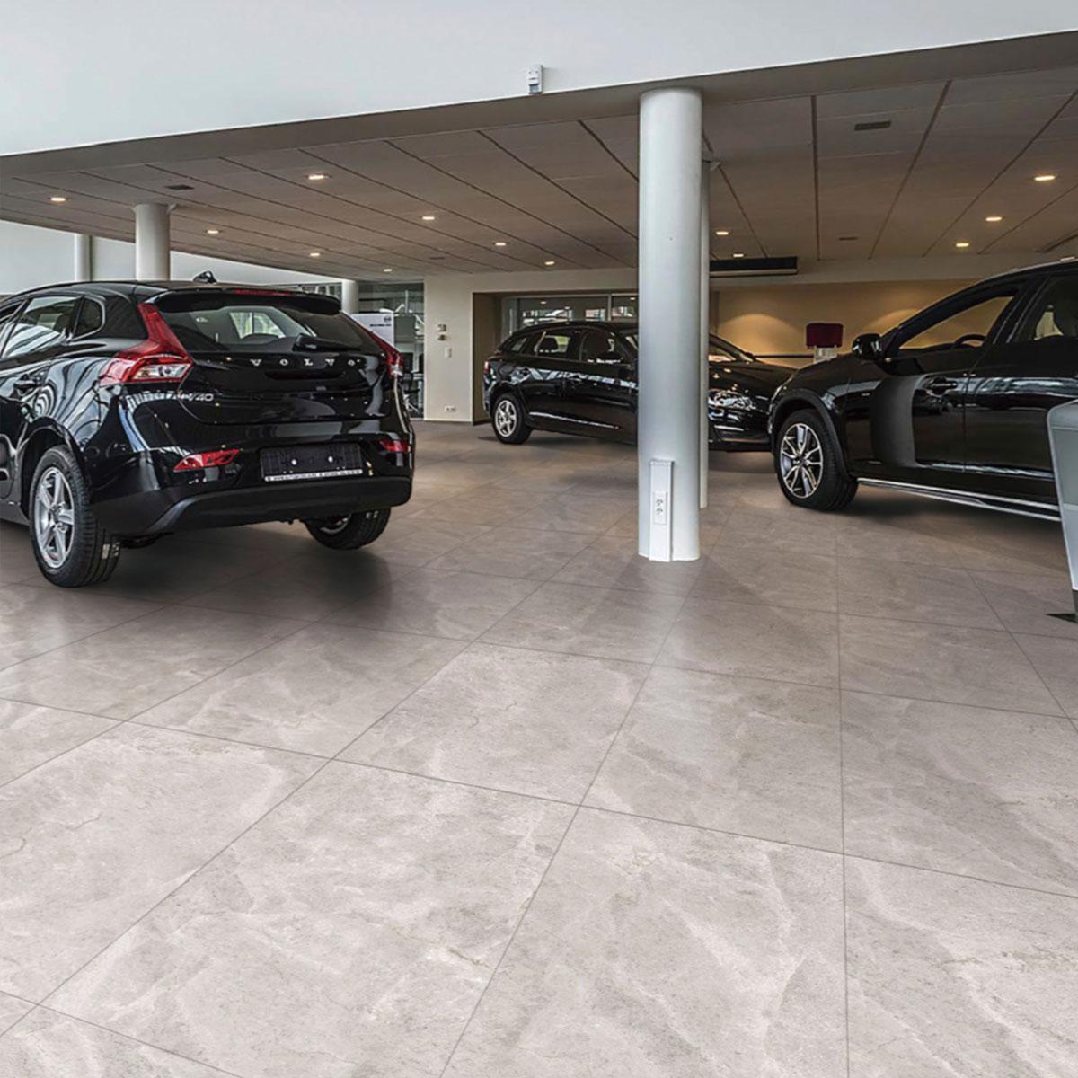 Tundra - Grey - Marble Look Tiles - Stone3 Brisbane