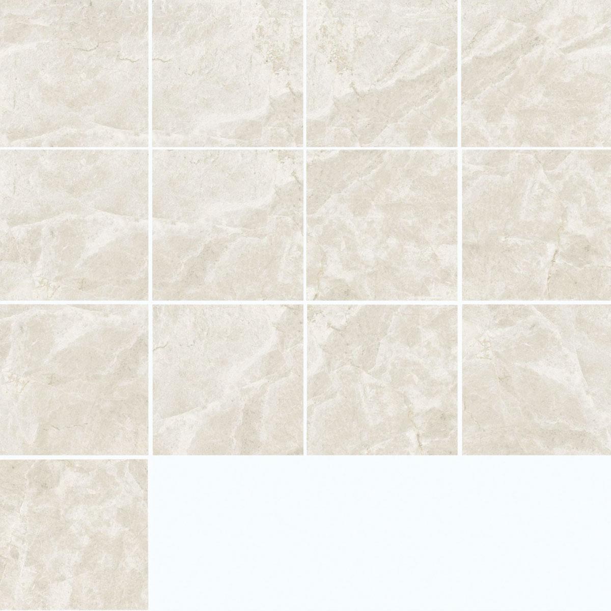 Tundra - Ivory - Marble Look Tiles - Stone3 Brisbane