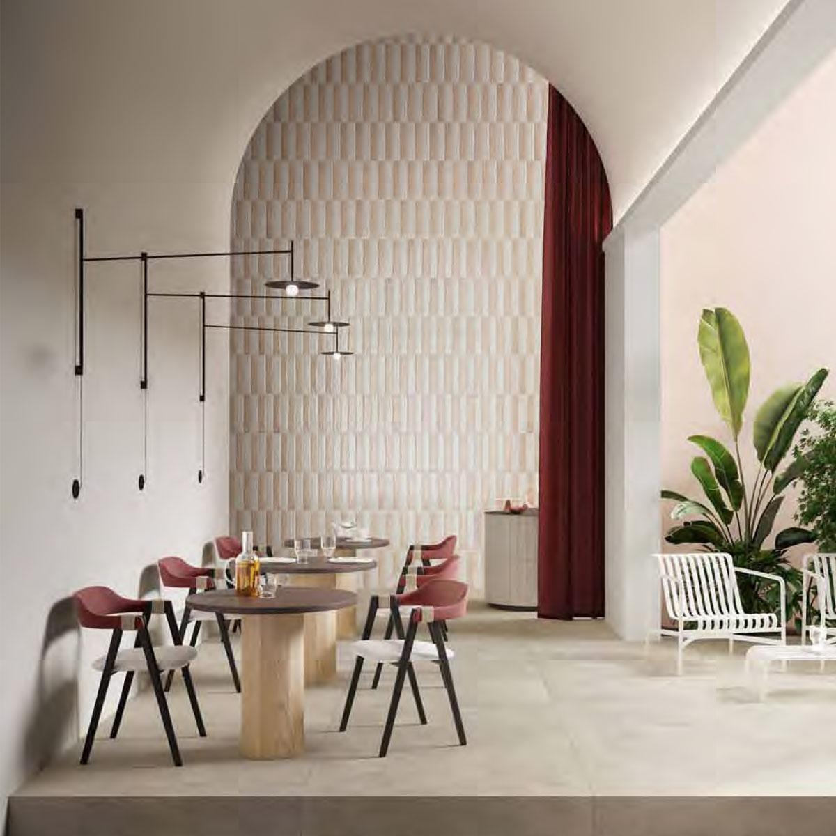 Fragment Brick - Bianco and Rosa - Gloss - Subway Tiles - Stone3 Brisbane