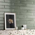 Fragment Brick - Verde Acqua - Gloss - Subway Tiles - Stone3 Brisbane