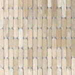 Tictax - Travertine Light - Mosaic and Feature Tiles - Stone3 Brisbane