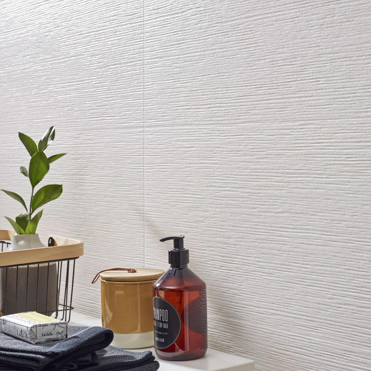 Arty - Comet White - Patterned Tiles - Stone3 Brisbane