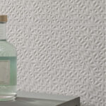 Arty - Kyoto White - Patterned Tiles - Stone3 Brisbane