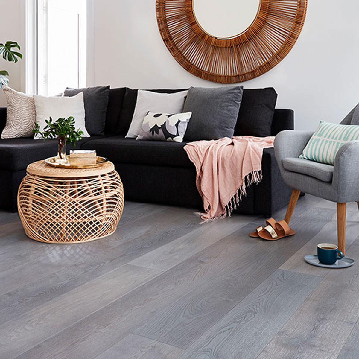 Prestige Oak - Bleached Driftwood - 21mm Engineered Timber Flooring - Stone3 Brisbane
