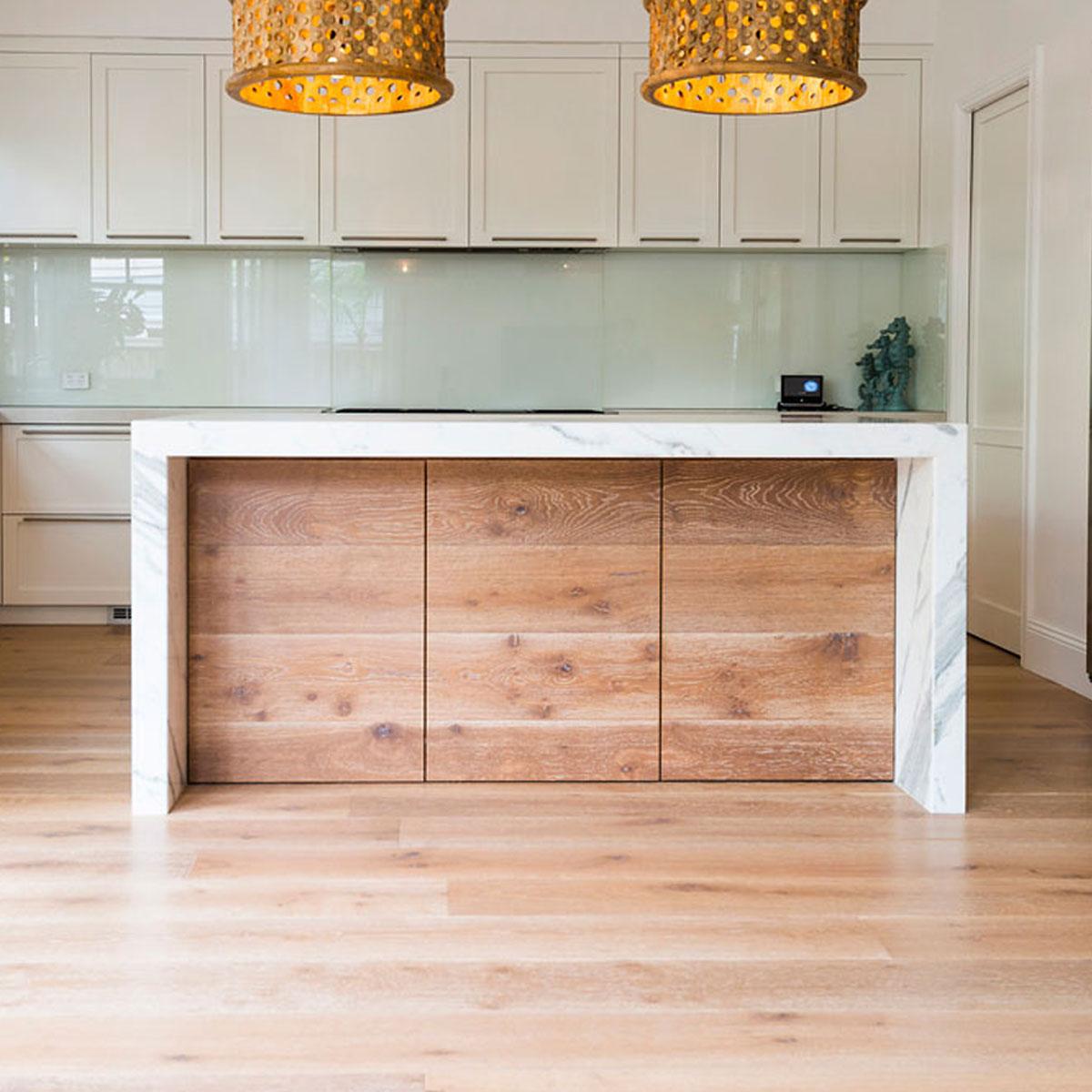 Prestige Oak - Cannes - 21mm Engineered Timber Flooring - Stone3 Brisbane