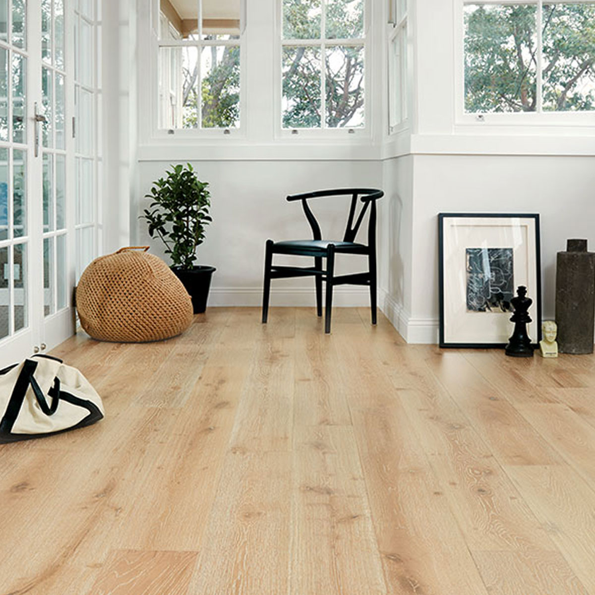 Prestige Oak - Limewash - 15mm Engineered Timber Flooring - Stone3 Brisbane